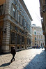 Via Garibaldi, One of the first streets wide enough for carriage traffic and commerce. Genova, Italy