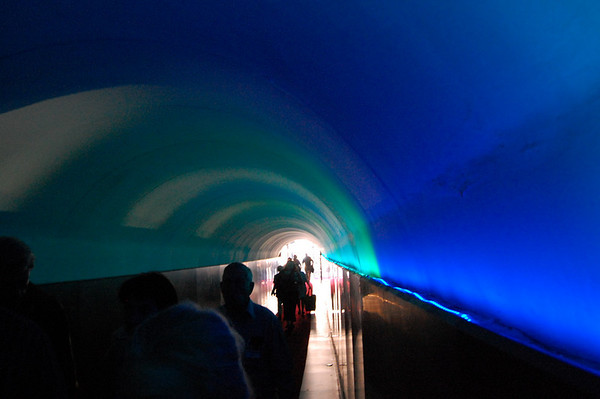 The tunnel to this 4-star hotel Sestri Levante, Italy