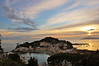Sunset over the Bay of Silence Sestri Levante, Italy