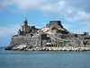Church of St. Peter & ruins of the Doria Castle Portovenere, Italy