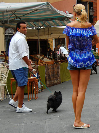 Even your dog knows you don't have a shot Santa Margherita, Italy