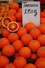 We would call these blood oranges Sestri Levante, Italy
