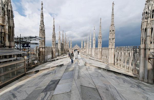 Duomo roof, Milan
