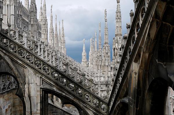 Duomo rooftop, Milan