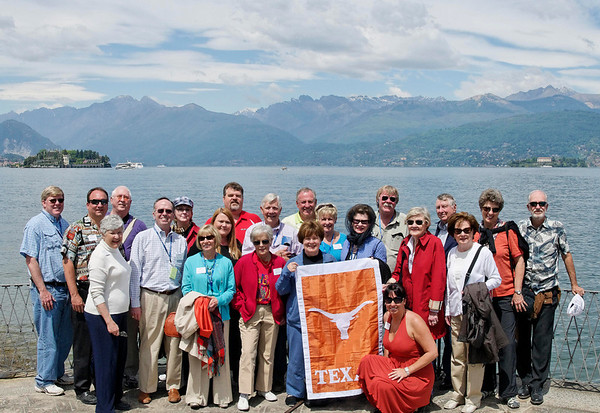 The whole UT group in Stresa