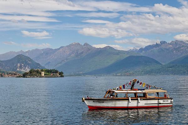 Lake Maggiore, Isola Bella in background