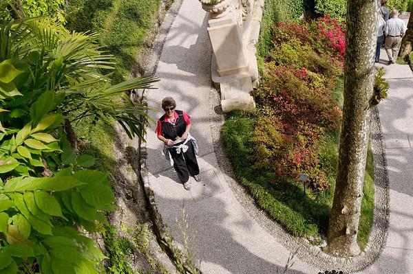 Suzanne, Villa Balbianello, Lake Como, Italy