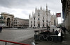 The Duomo in Milan Italy.