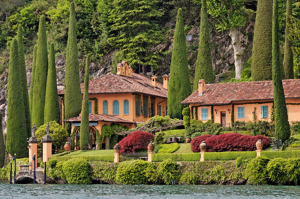 Villa La Cassinella, private resort, Lake Como, Italy