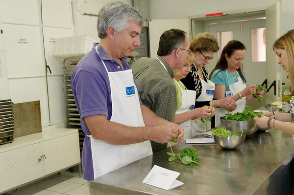 Team Pesto - David, Monty, Sheryl, Wanda, and Amy.