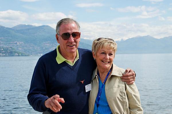 Mark and Lynne, Stresa Italy