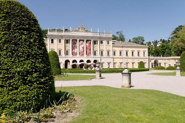 Rubens exhibit at Villa Olmo.