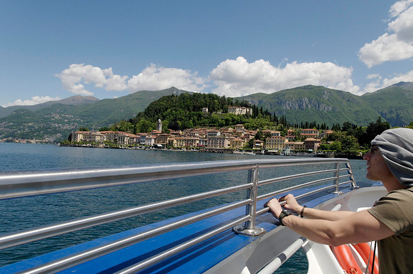 coming into Bellagio Italy