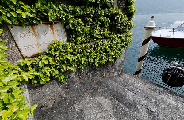 Attenti al Cani! Villa Balbianello, Lake Como, Italy
