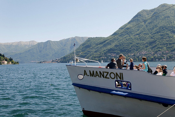 DAY 6:  Off on the slow boat to Villa Carlotta and Bellagio