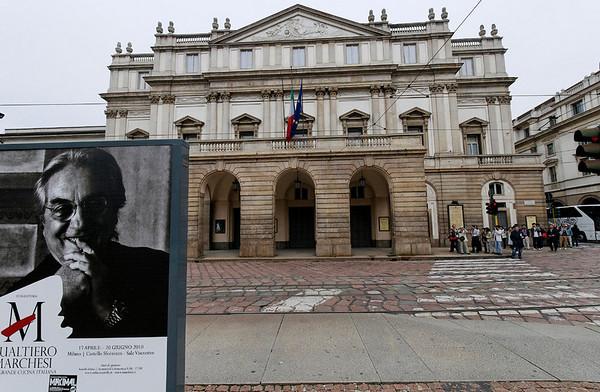 Teatro Alla Scala, Milan (no photos inside)