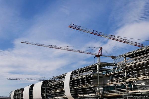 construction at Malpensa Airport