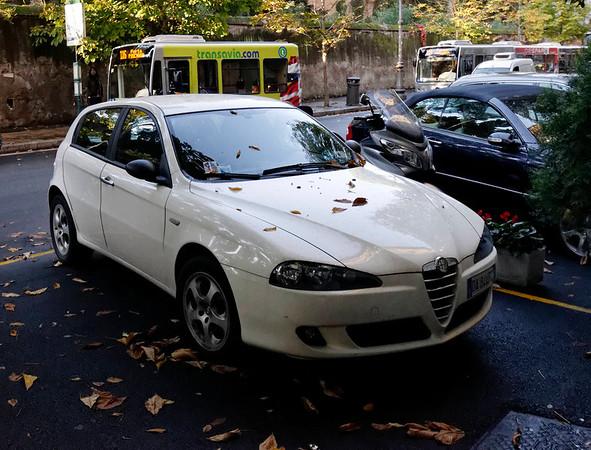 Rome, Italy; Alfa Romeo wagon