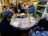 Orvieto, Italy; sampling the olive oils