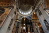 Rome, Italy; Vatican City, St. Peter's interior