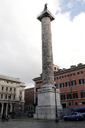 Rome, Italy; Trajan's column