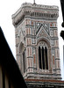 Florence, Italy; tower of the Duomo