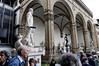 Florence, Italy; Piazza della Signoria, original statues, except for David