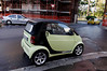 Rome, Italy; convertible Smart car