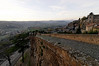 Dusk, wall around Orvieto