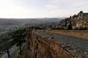 Dusk, wall around Orvieto