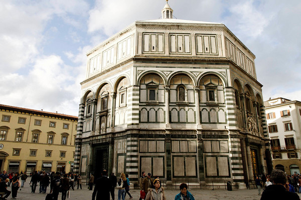 Florence, Italy; the Baptistry
