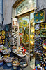 Orvieto, Italy; porcelain shop
