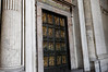 Rome, Italy; Vatican City, St. Peter's, Jubilee doors, open only ever 25 years, cemented up behind