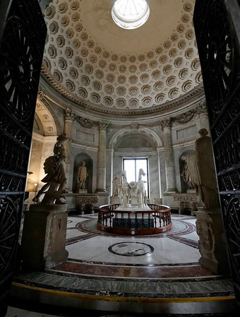 Rome, Italy; Vatican City, exquisitely detailed room