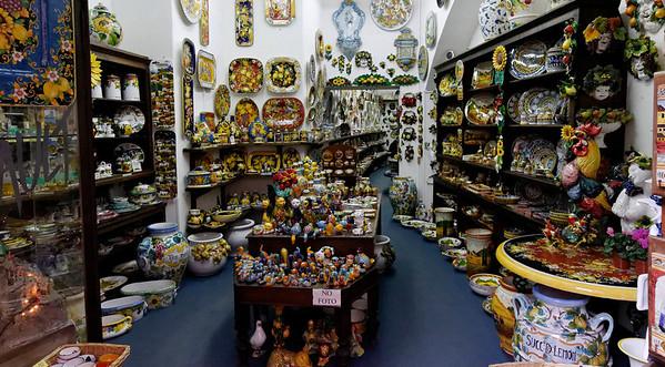 shop in Orvieto