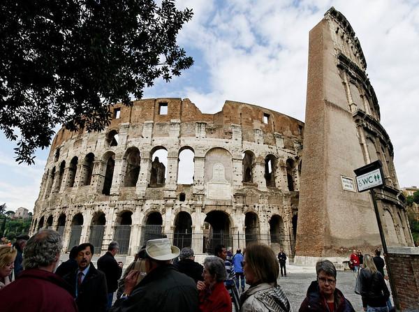 Rome, Italy; the Coliseum
