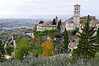Assisi, Italy, view from the hill