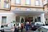 Rome, Italy; Victoria hotel