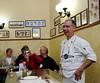 Orvieto, Italy; Chef Carlo in his element