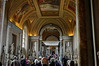 Rome, Italy; Vatican City, another hall of statues