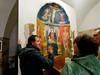 Roberto explaining restored fresco_DSC8427