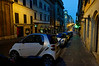 Up early in Rome looking for photos - Smart car parking_DSC8303