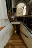 steps leading to birthplace of St  Benedict and his twin sister St  Scholatica in 480_DSC8416