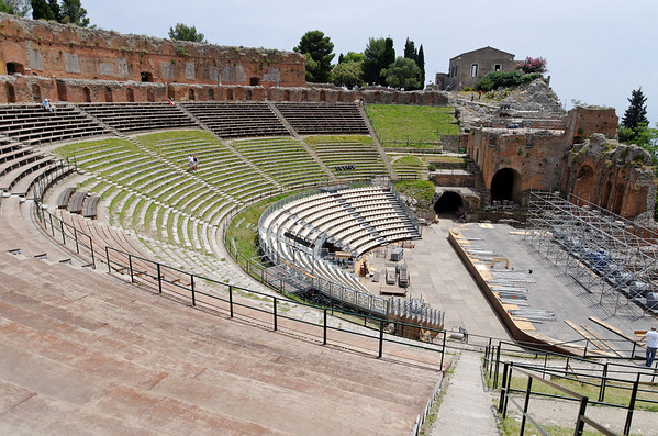 Greek Ampitheater, Taormina, Sicily