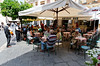 Irish couple (right back), Amigos Bar, Taormina, Sicily