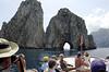 Headed for the passage, Isle of Capri
