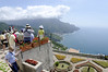 Time for another photo, Villa Rufolo, Ravello Italy