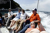 Nothing like a Mediterranean boat ride to put a group at ease, Isle of Capri