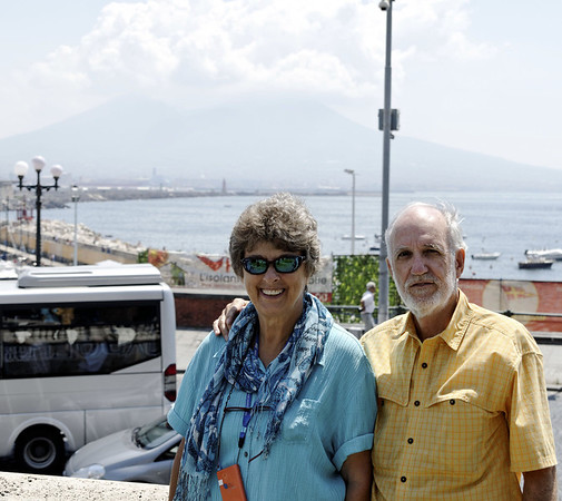 Suzanne and Richard, Naples Italy