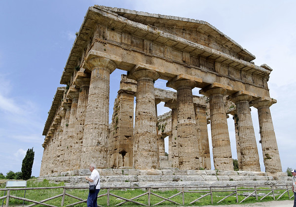 Temple of Posiedon, Paestum Italy